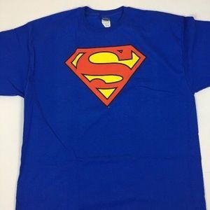 Other - Superman Logo T-Shirts 2XL Classic Royal Blue